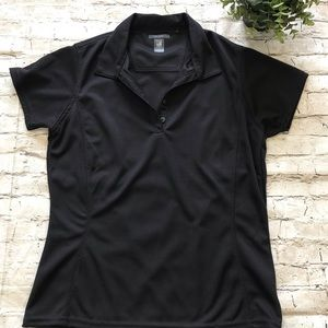 WILLOW POINTE Black Athletic Shirt